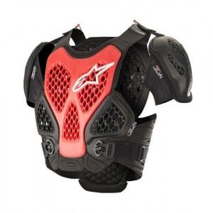 Alpinestars Chest Protector Bionic Black/Red