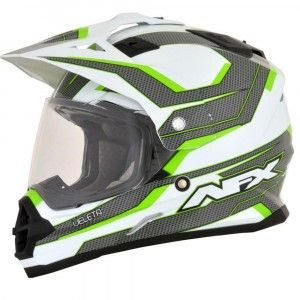 AFX FX-39DS Crosshelm/Endurohelm Veleta Green
