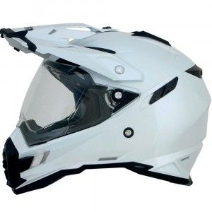 AFX Crosshelm/Endurohelm FX-41DS Pearl White