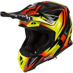 Airoh Aviator 2.3 AMS Crosshelm Fame Orange Gloss