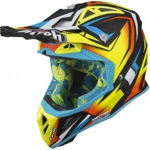 Airoh Aviator 2.3 AMS Crosshelm Fame Yellow Mat