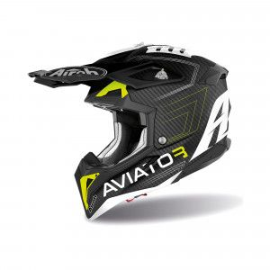 Airoh Aviator 3 Crosshelm Primal Carbon