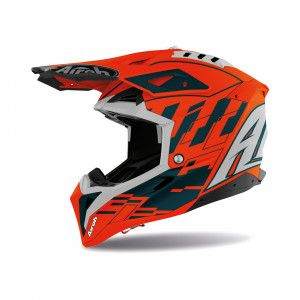 Airoh Aviator 3 Crosshelm Rampage Orange