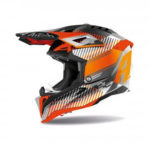 Airoh Aviator 3 Crosshelm Wave Orange