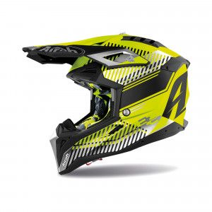 Airoh Aviator 3 Crosshelm Wave Yellow
