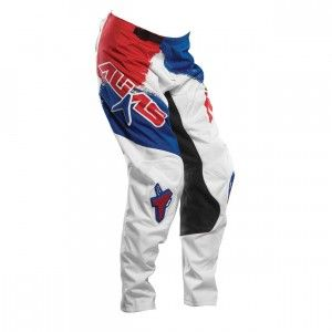 AliasMX Broek A2 Brushed Red/White/Blue-30