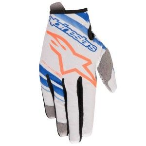 Alpinestars Handschoenen Radar Cool Gray/Blue/Fluor Orange