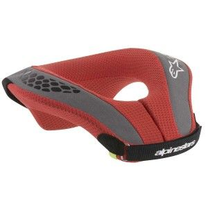 Alpinestars Kinder Neck Protector Sequence Black/Red