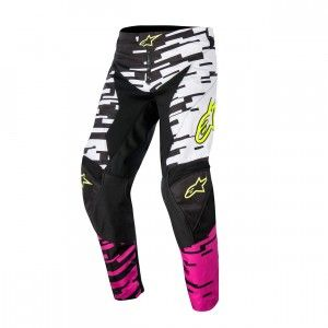 Alpinestars Broek Racer Braap White/Pink/Black-28