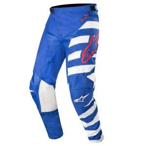 Alpinestars Crossbroek Racer Braap Blue/White/Red