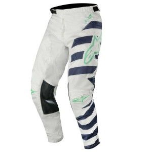 Alpinestars Crossbroek Racer Braap Cool Gray/Dark Navy/Teal