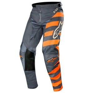 Alpinestars Crossbroek Racer Braap Anthracite/Fluor Orange/Sand