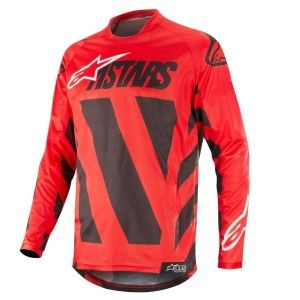 Alpinestars Crossshirt Racer Braap Black/Red/White