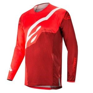 Alpinestars Crossshirt Techstar Factory Red/Burgundy