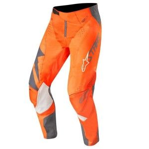 Alpinestars Crossbroek Techstar Factory Anthracite/Fluor Orange