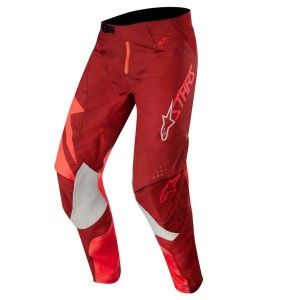 Alpinestars Crossbroek Techstar Factory Red/Burgundy