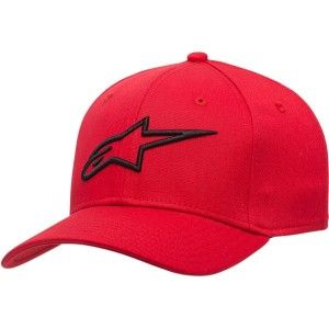 Alpinestars Ageless Curved Bill Pet Red
