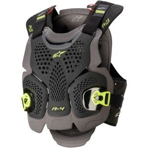 Alpinestars Chest Protector A-4 MAX Black/Grey