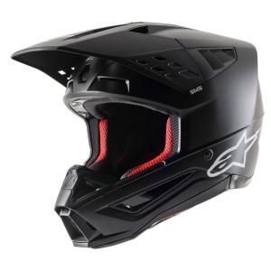 Alpinestars Crosshelm SM 5 Solid Black