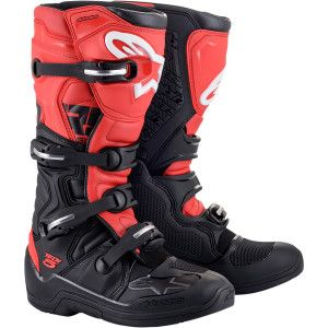 Alpinestars Crosslaarzen Tech 5 Black/Red