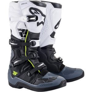 Alpinestars Crosslaarzen Tech 5 Black/White