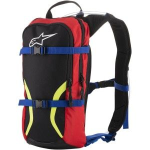 Alpinestars Iguana Hydration Pack Water Rugzak Red/Black/Yellow