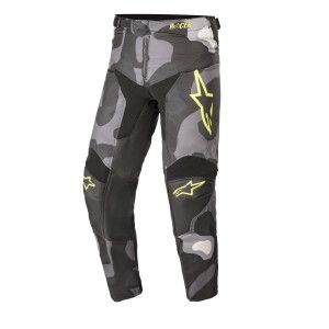 Alpinestars Kinder Crossbroek Racer Tactical Camo Fluo Yellow