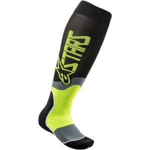 Alpinestars MX Plus-2 kinder Crosssokken Fluor Yellow