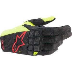 Alpinestars Racefend Crosshandschoenen Fluo Yellow/Black