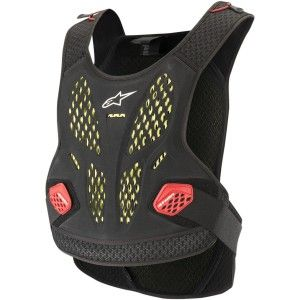 Alpinestars Sequence Bodyprotector Black/Red