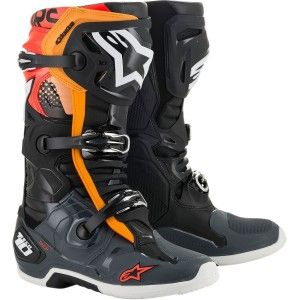 Alpinestars Crosslaarzen Tech 10 Black/Grey/Orange