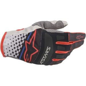 Alpinestars Techstar Crosshandschoenen Gray/Black/Red