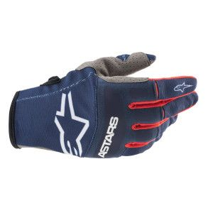 Alpinestars Techstar Crosshandschoenen Dark Blue/Red
