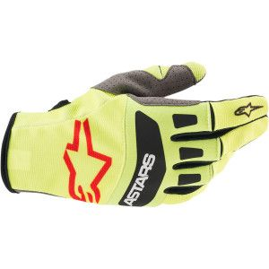 Alpinestars Techstar Crosshandschoenen Fluo Yellow