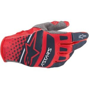 Alpinestars Techstar Crosshandschoenen Red/Navy
