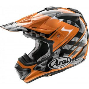 Arai Crosshelm MX-V Scoop Orange