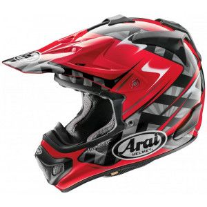 Arai Crosshelm MX-V Scoop Red