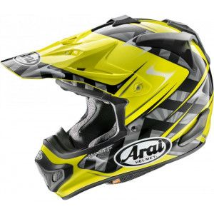 Arai Crosshelm MX-V Scoop Yellow