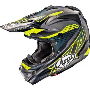 Arai Crosshelm MX-V Slash Black