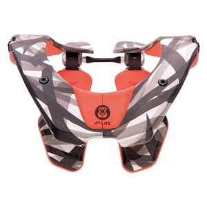 Atlas Tyke Kinder Nekbrace Orange Laser