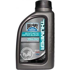Bel-Ray Thumper Racing Synthetic 4T Olie 15W-50 1 Liter
