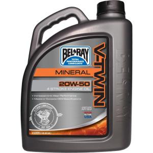 Bel-Ray V-Twin Motor Oil 20W-50 4 Liter