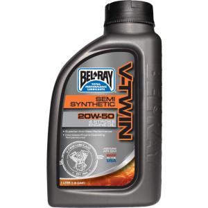 Bel-Ray V-Twin Semi-Synthetic Motor Oil 20W-50 1 Liter