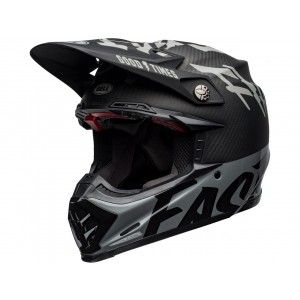 Bell Moto-9 Flex Carbon Crosshelm Fasthouse WRWF Black/Grey
