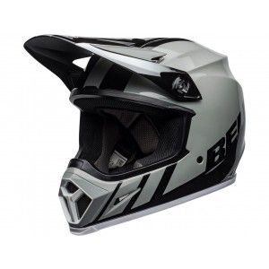 Bell Crosshelm MX-9 MIPS® Strike Dash Black/Grey