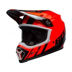 Bell Crosshelm MX-9 MIPS® Strike Dash Black/Orange