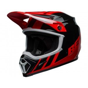 Bell Crosshelm MX-9 MIPS® Strike Dash Black/Red
