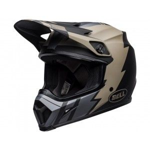 Bell Crosshelm MX-9 MIPS® Strike Matte Khaki/black