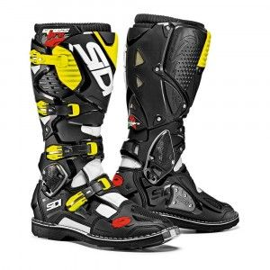 Sidi Crosslaarzen Crossfire 3 Black/Yellow Fluo