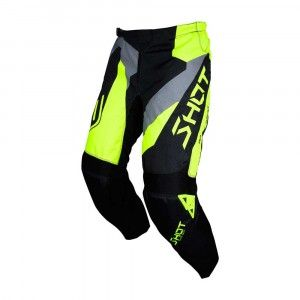 Shot Crossbroek Devo Alert Neon Yellow/Grey